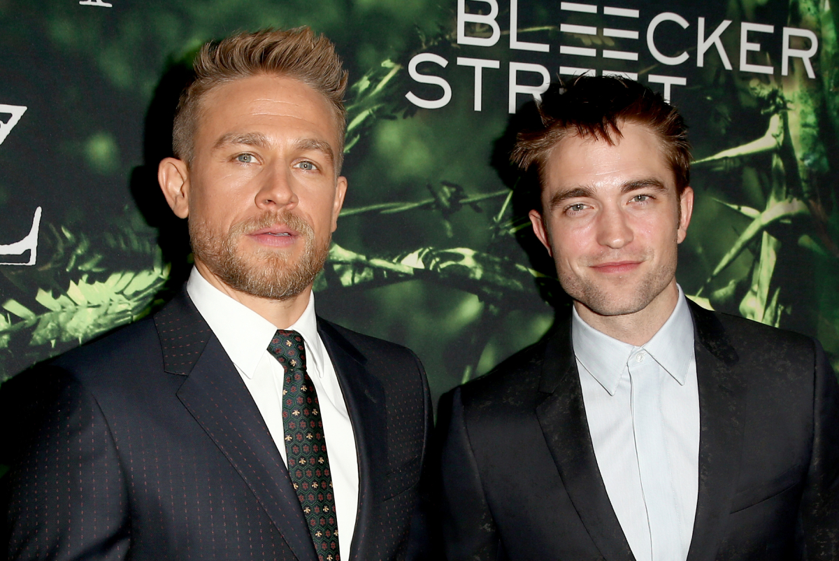 Charlie Hunnam Robert Pattinson