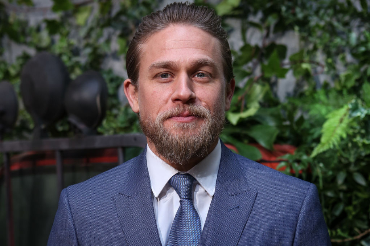 'Sons of Anarchy' star Charlie Hunnam attends the Triple Frontier (Triple Frontera) premiere at Callao Cinema on March 06, 2019 in Madrid, Spain