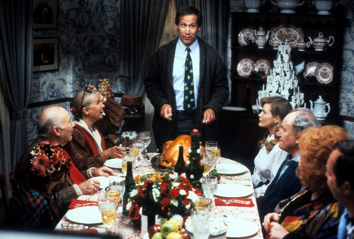 Chevy Chase in 'National Lampoon's Christmas Vacation'