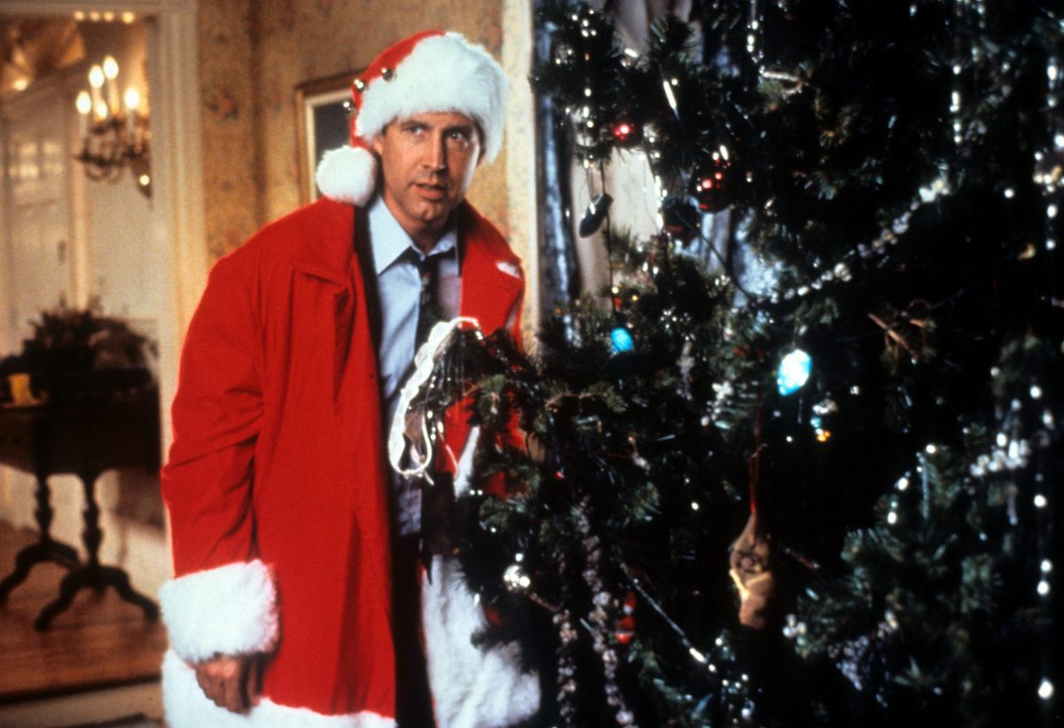Chevy Chase in a scene from 'National Lampoon's Christmas Vacation'