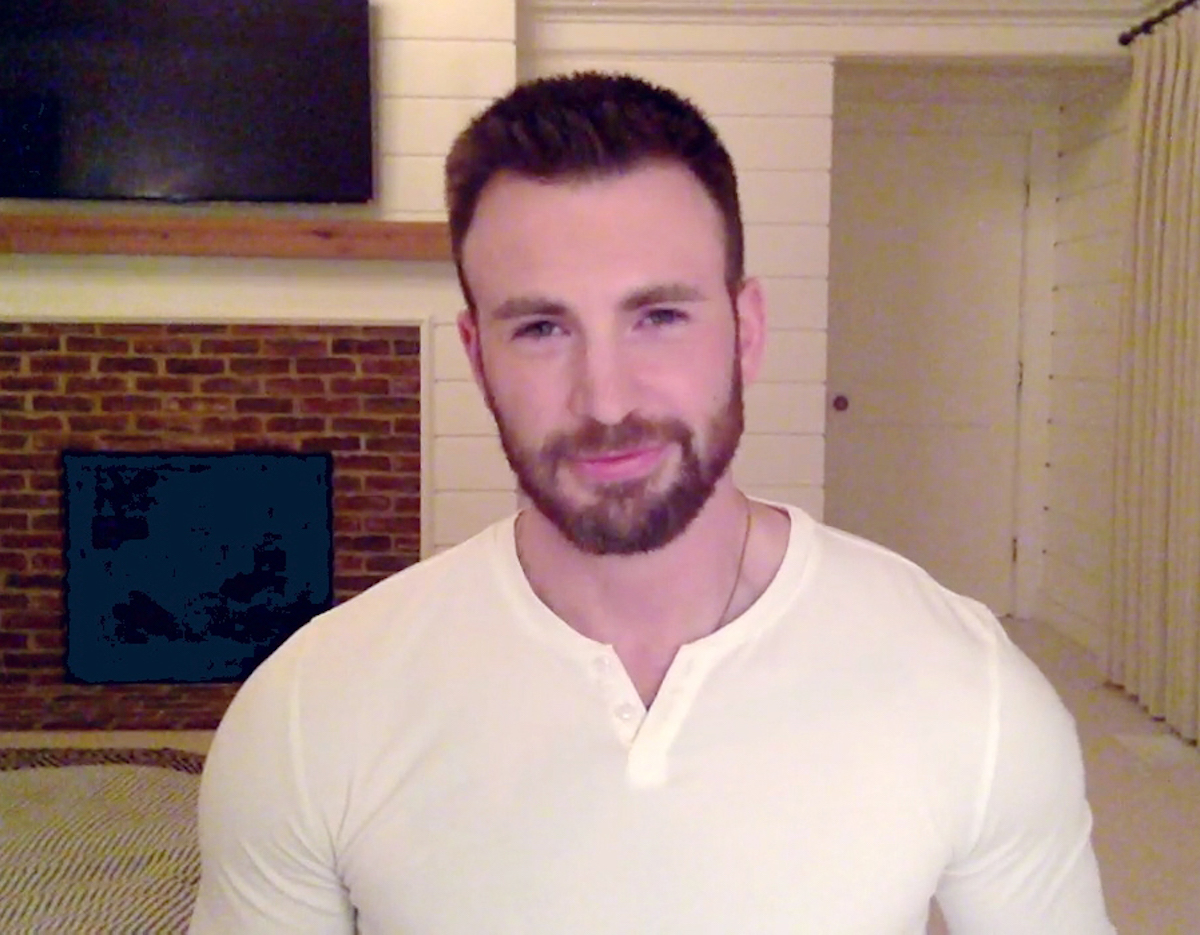 Chris Evans on 'Jimmy Kimmel Live!'