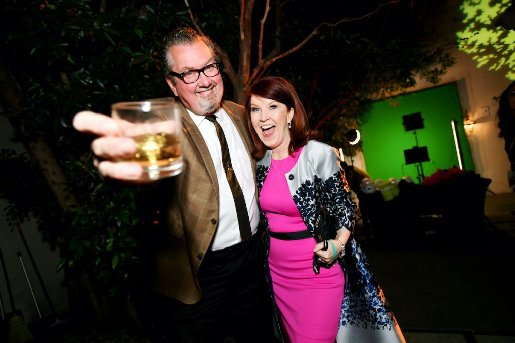 Chris Haston and Kate Flannery