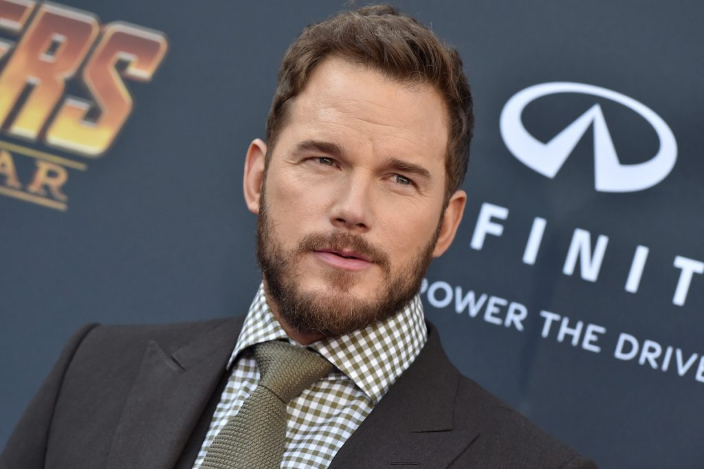 Chris Pratt on the red carpet