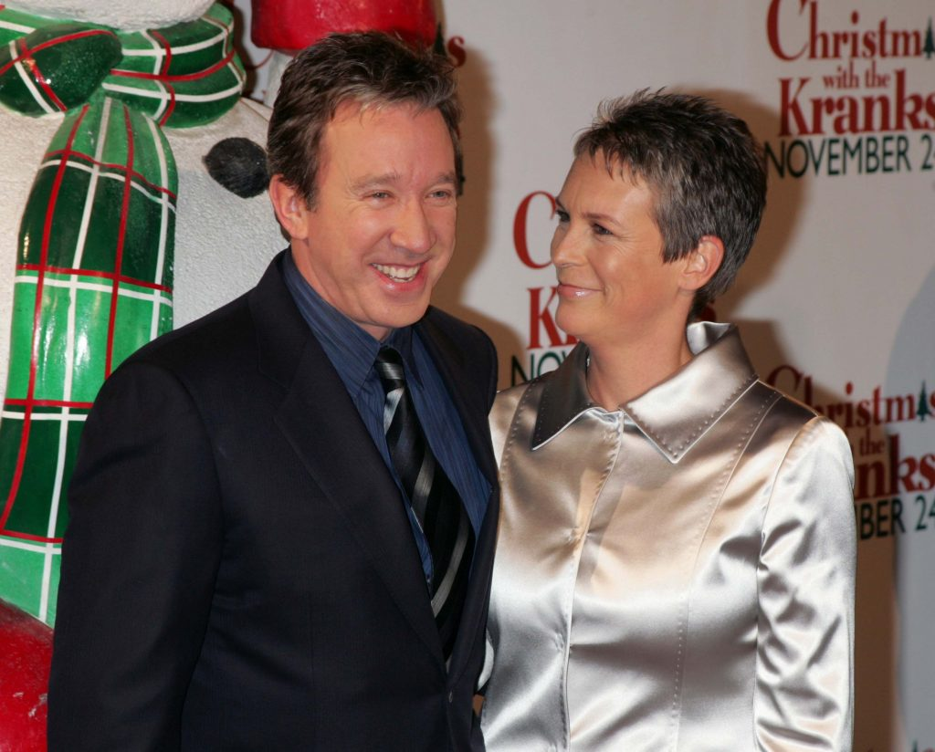 Tim Allen and Jamie Lee Curtis during 'Christmas with The Kranks' New York City Premiere