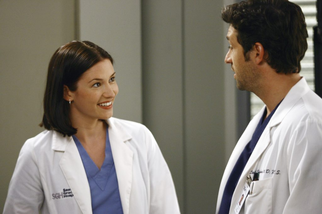 'Grey's Anatomy' Chyler Leigh and Patrick Dempsey