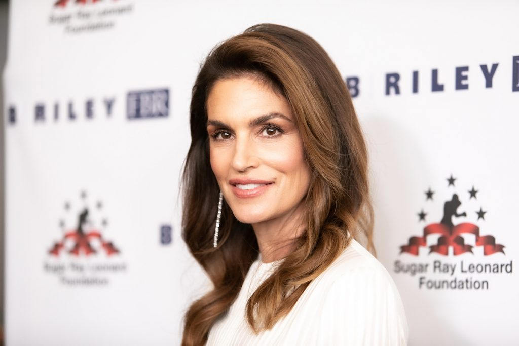 Cindy Crawford attends Sugar Ray Leonard Foundation's 10th Annual 'Big Fighters, Big Cause' Charity Boxing Night at The Beverly Hilton Hotel on May 22, 2019 in Beverly Hills, California.