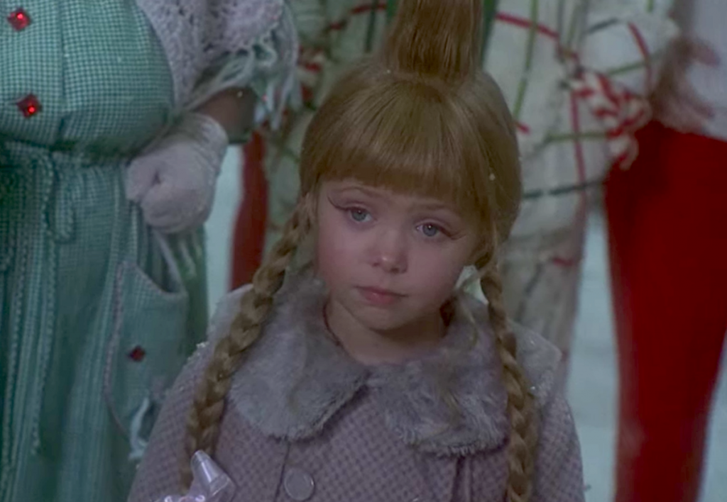 Taylor Momsen as Cindy Lou Who in 'How The Grinch Stole Christmas'   Universal Pictures
