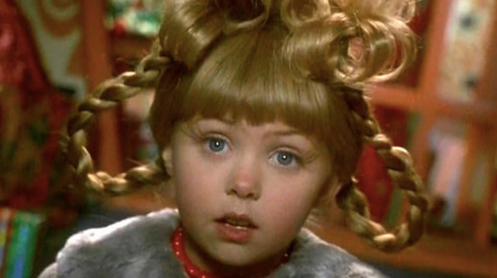 Taylor Momsen as Cindy Lou Who in 'How The Grinch Stole Christmas' | YouTube