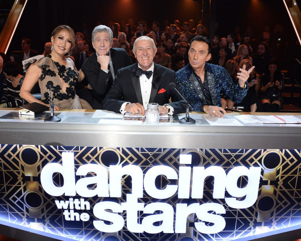 Carrie Ann Inaba, Tom Bergeron, Len Goodman, and Bruno Tonioli on 'Dancing with the Stars'
