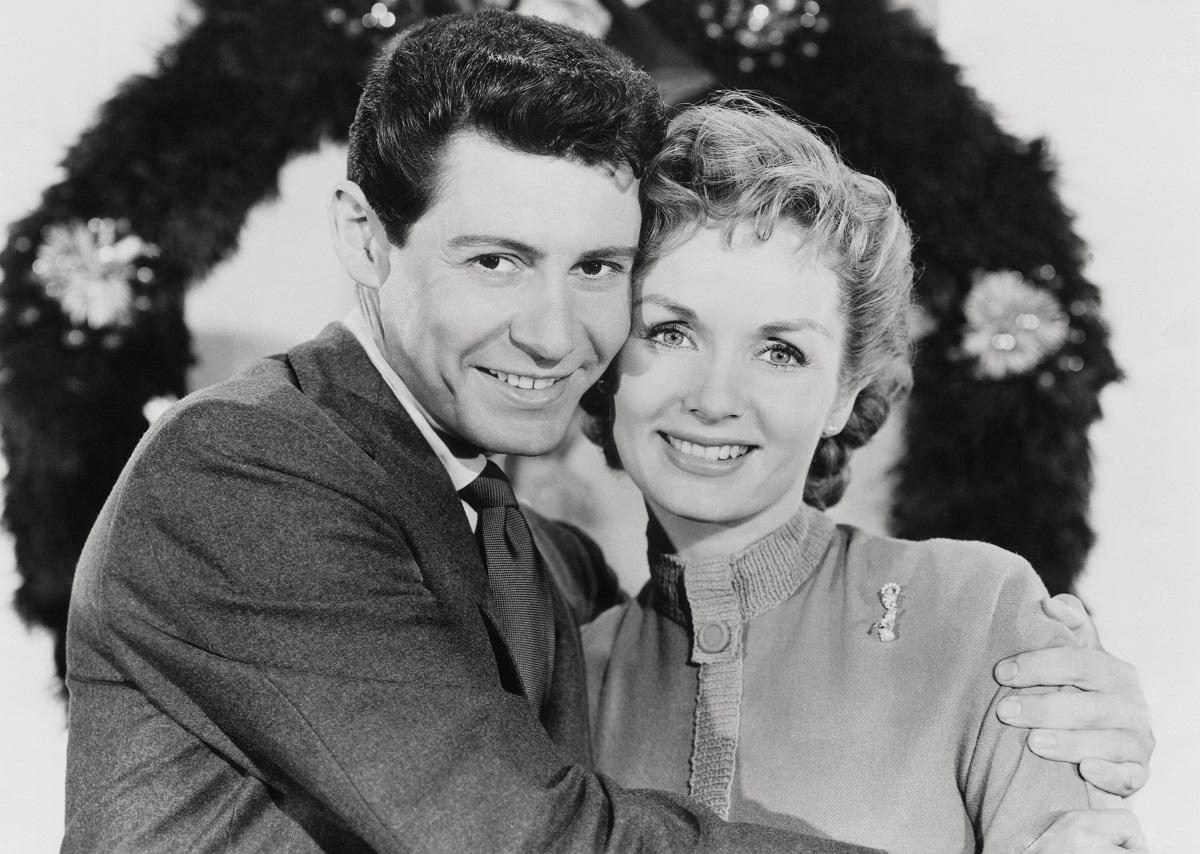 Debbie Reynolds and Eddie Fisher in 'Bundle of Joy'
