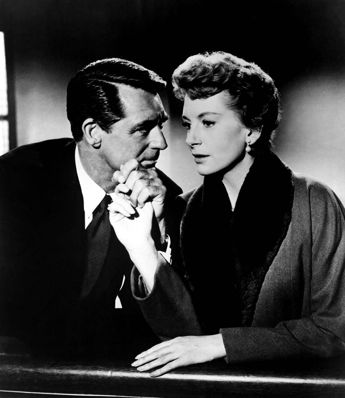 Deborah Kerr and Cary Grant