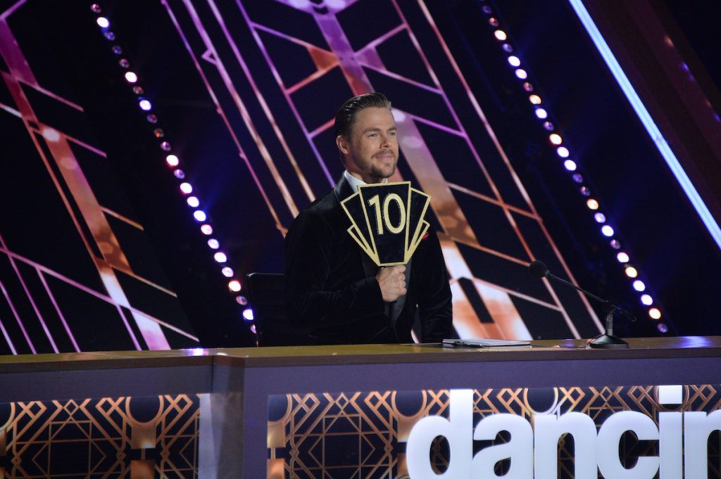Derek Hough on 'Dancing with the Stars'