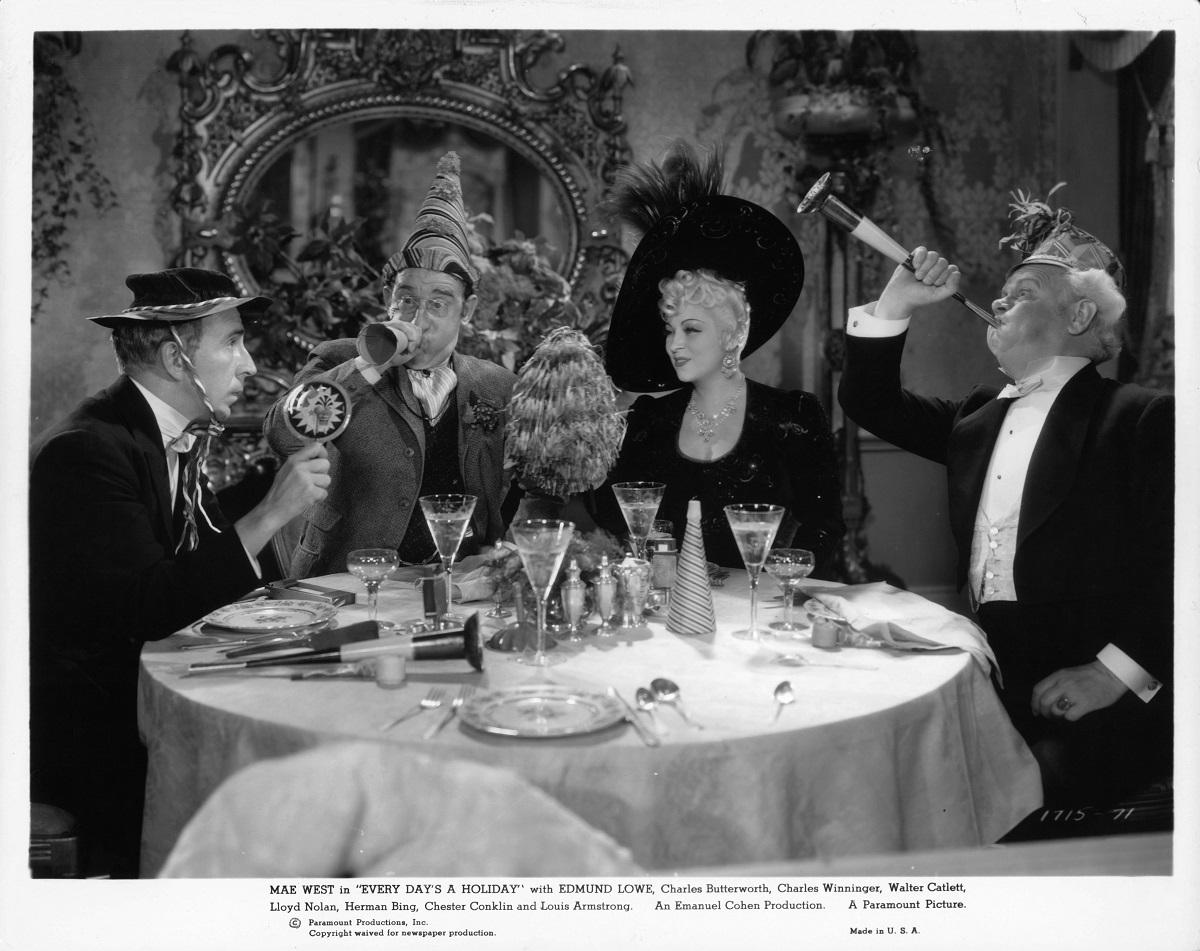 Edmund Lowe and Mae West