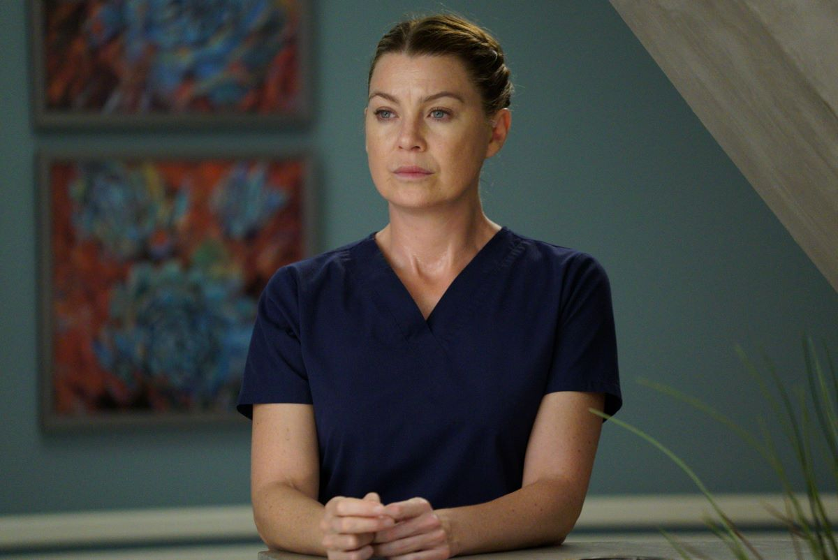Ellen Pompeo as Meredith Grey in 'Grey's Anatomy'