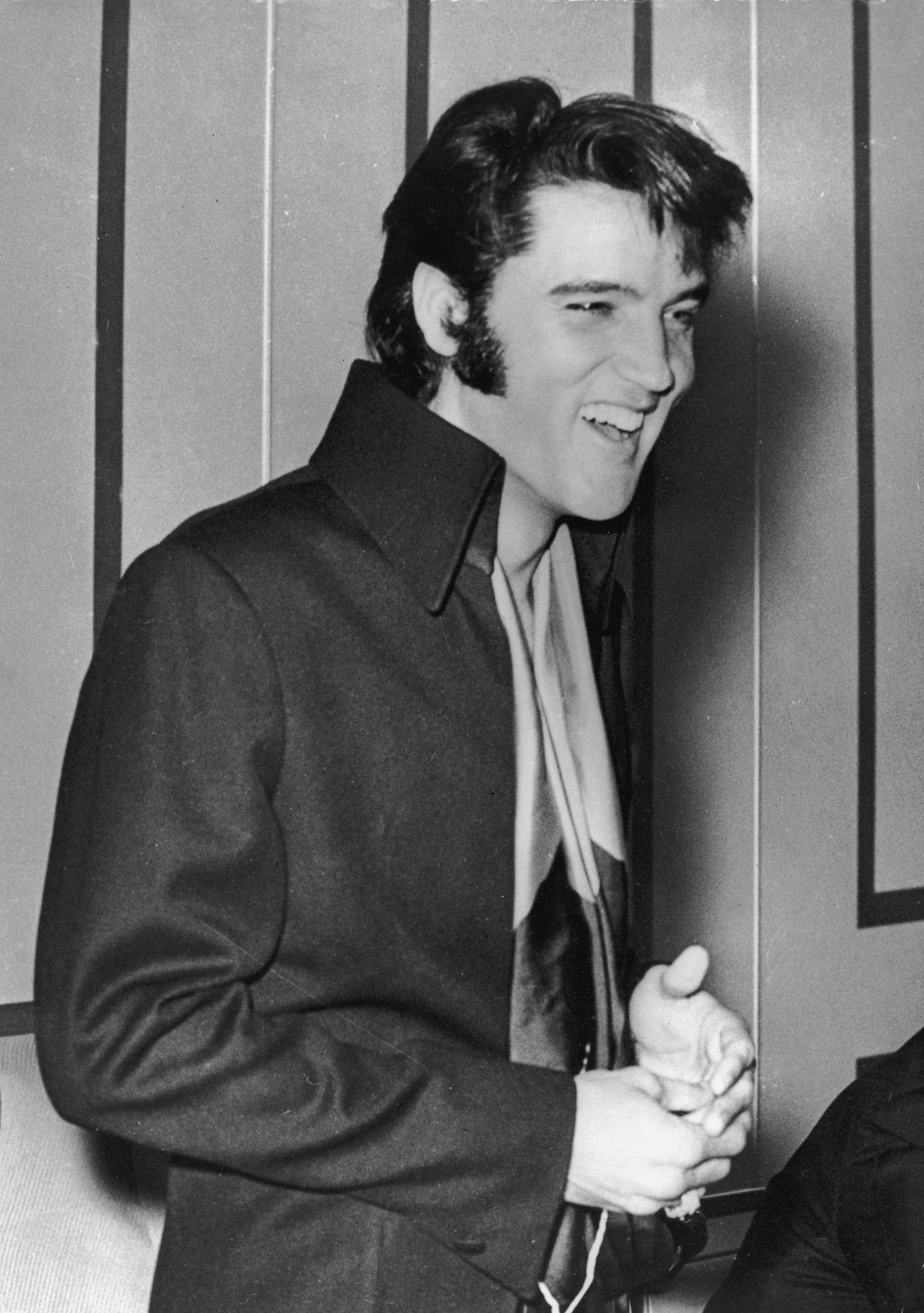 Elvis Presley in 1972