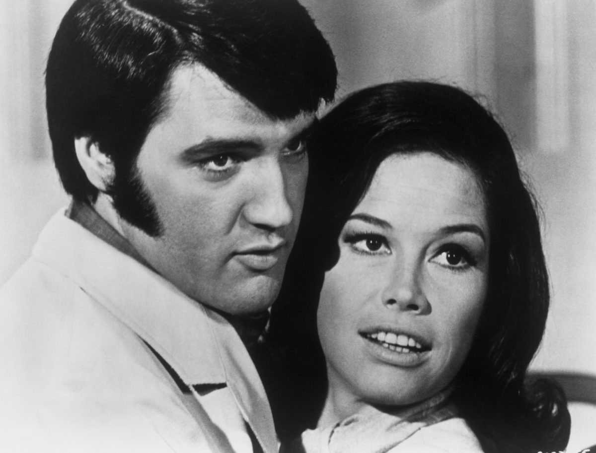 Elvis Presley and Mary Tyler Moore