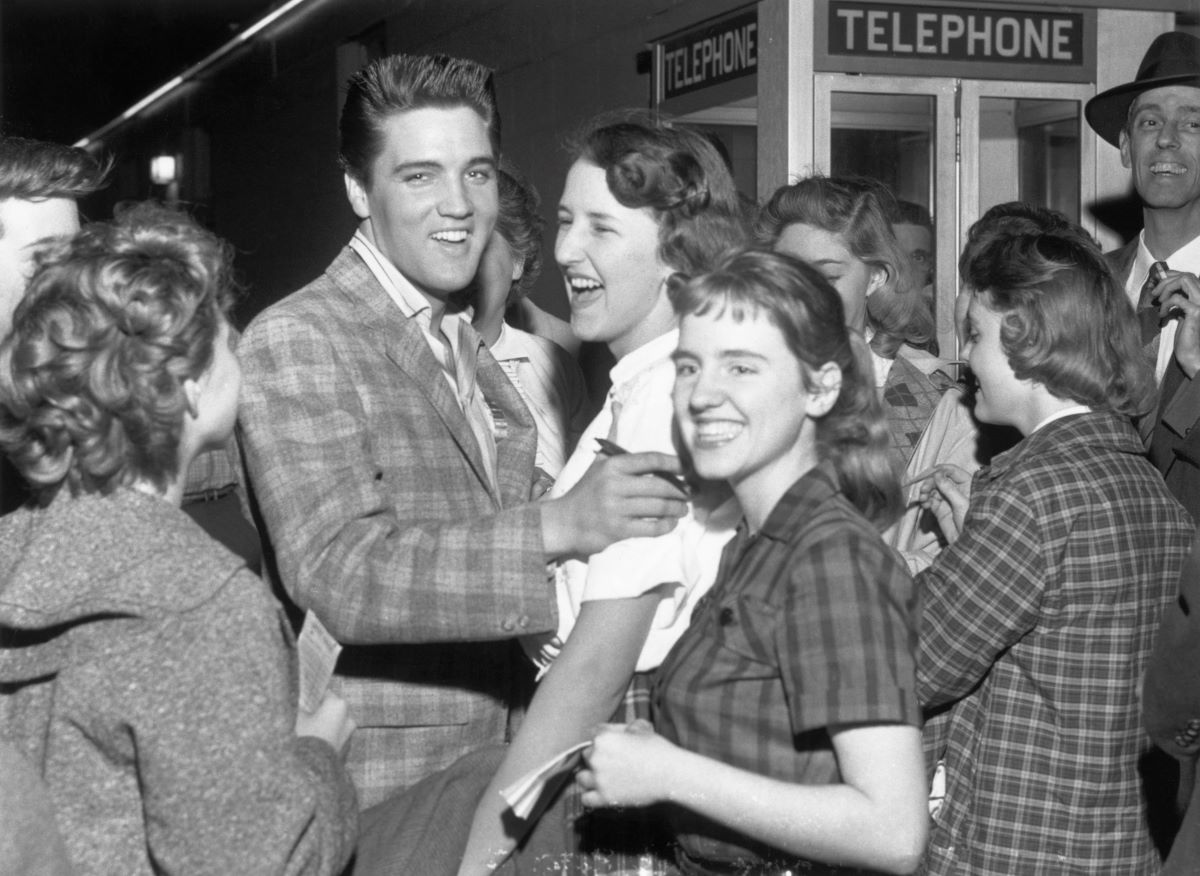 Elvis Presley fans