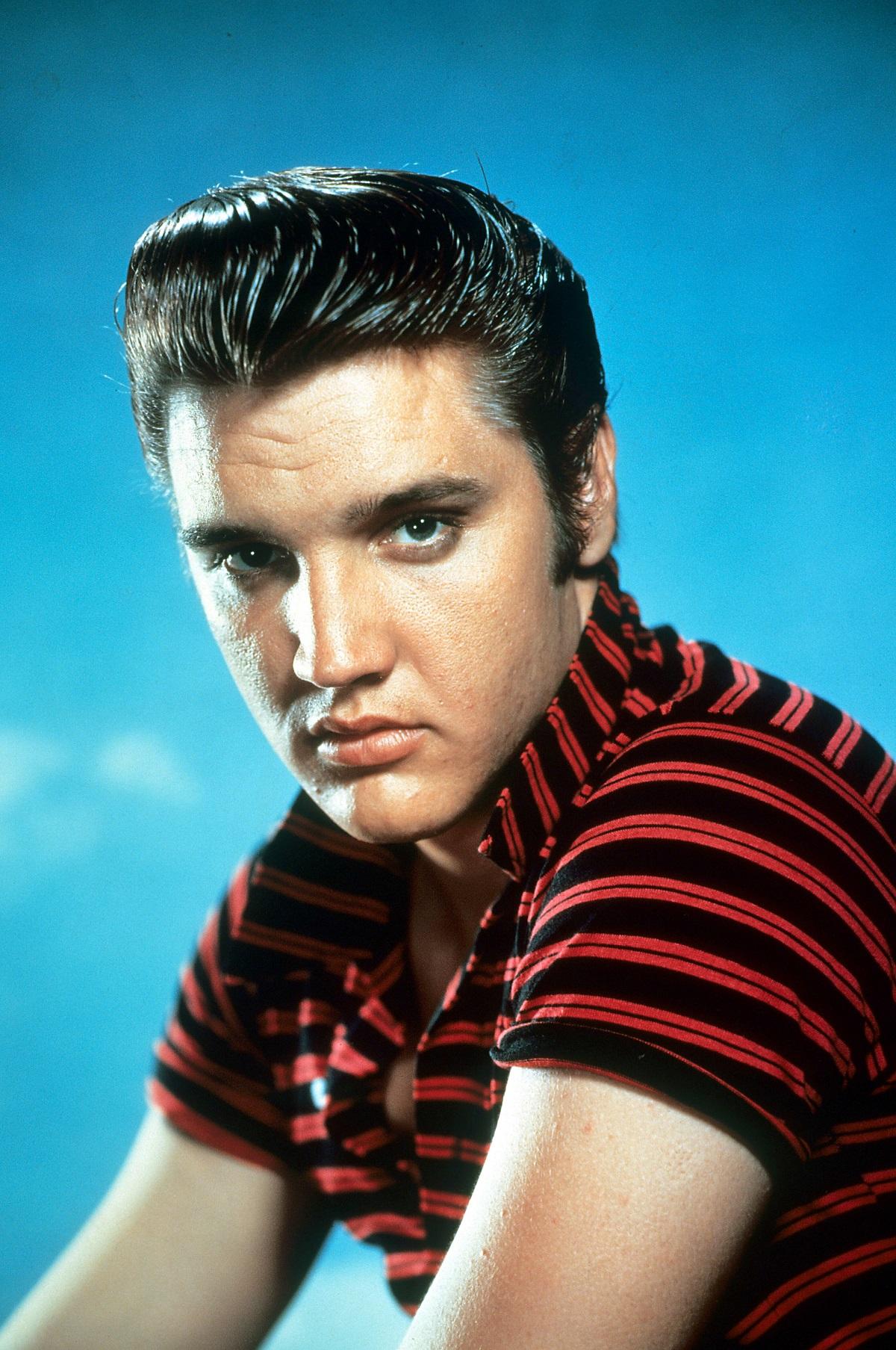 Elvis Presley in 1955