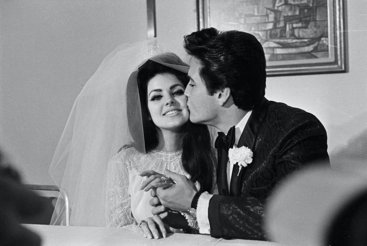 Wedding of Priscilla and Elvis Presley