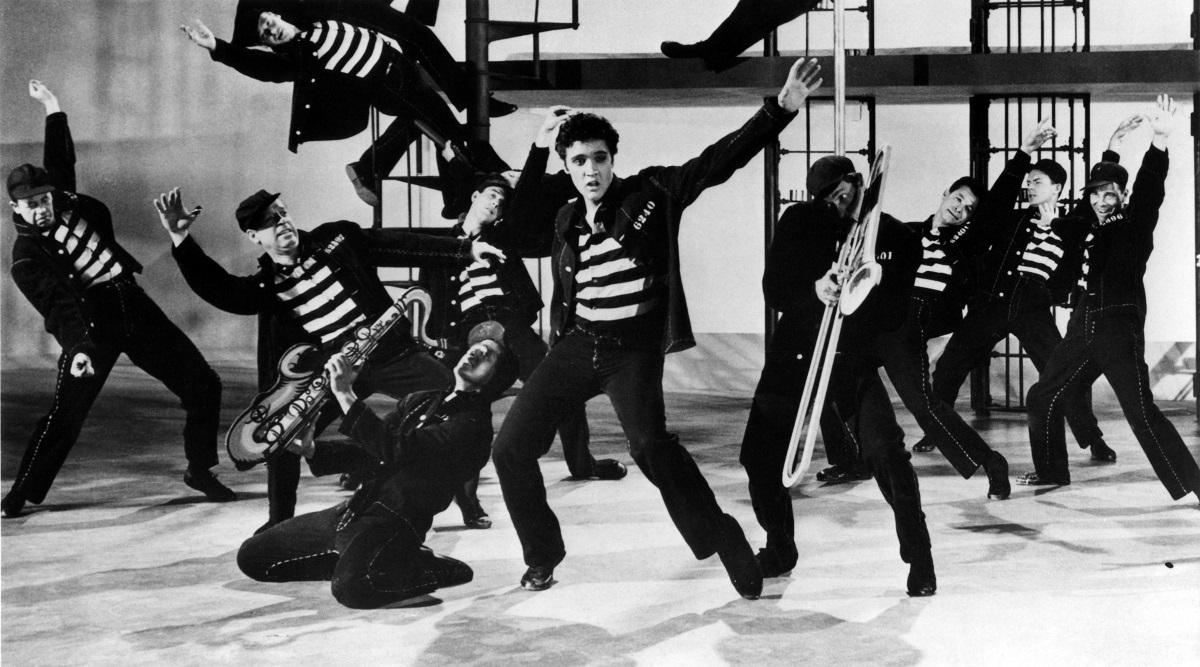 Elvis Presley em 'Jailhouse Rock'