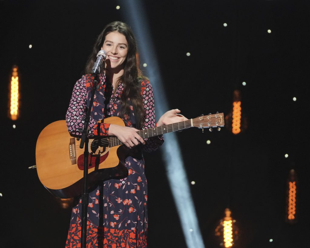 Evelyn Cormier on 'American Idol'