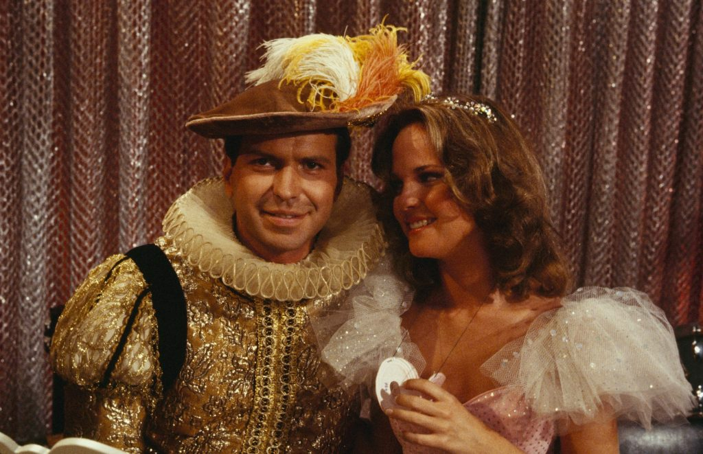 Frank Sinatra Jr. and Melissa Sue Anderson on 'The Love Boat'