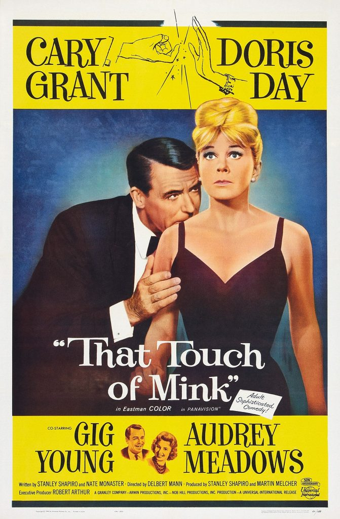 Promotional poster for 'That Touch Of Mink'