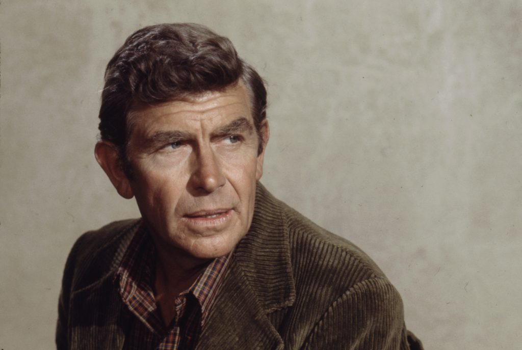 Andy Griffith in 1974