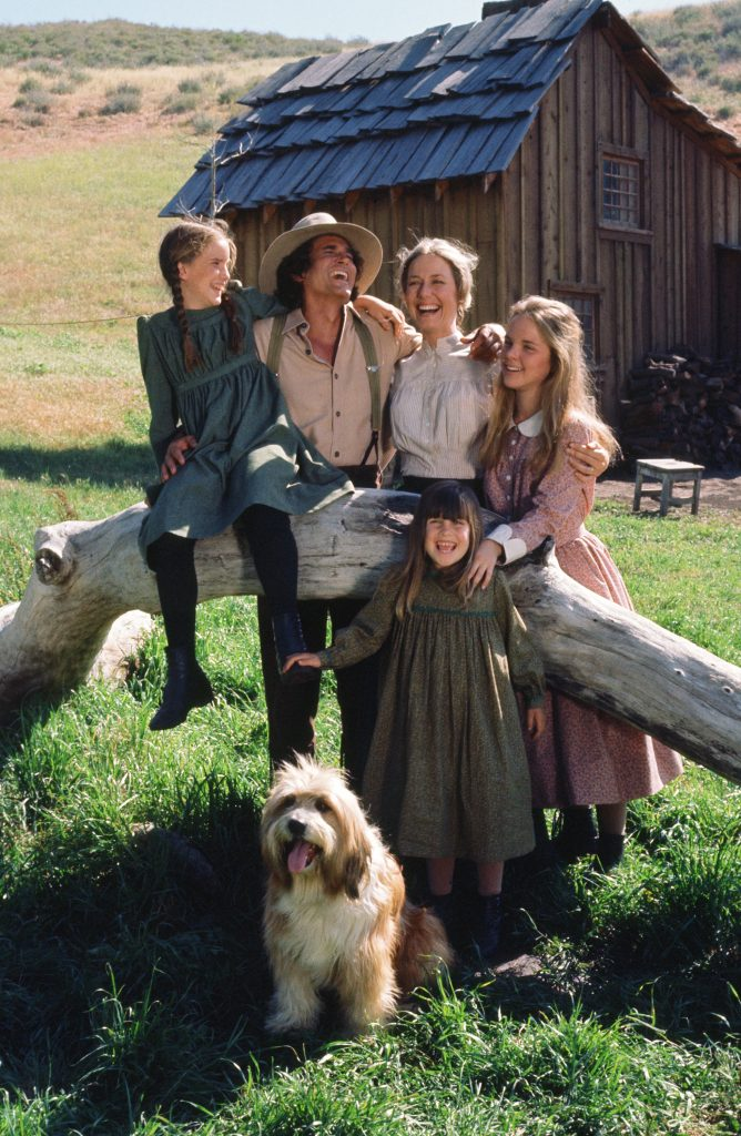The Ingalls Family on 'Little House on the Prairie'