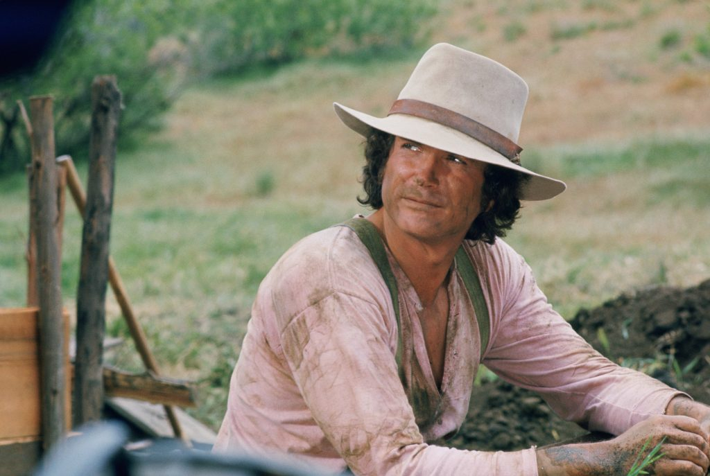 Michael Landon as Charles Ingalls on 'Little House on the Prairie'