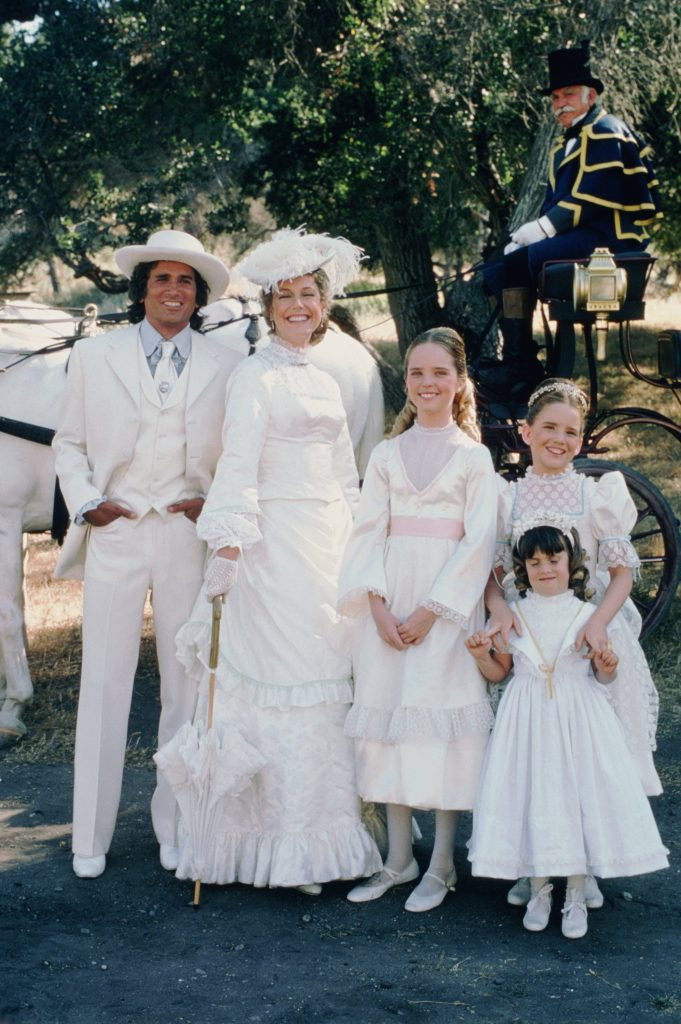 The Ingalls Family in 'Little House on the Prairie', 1975