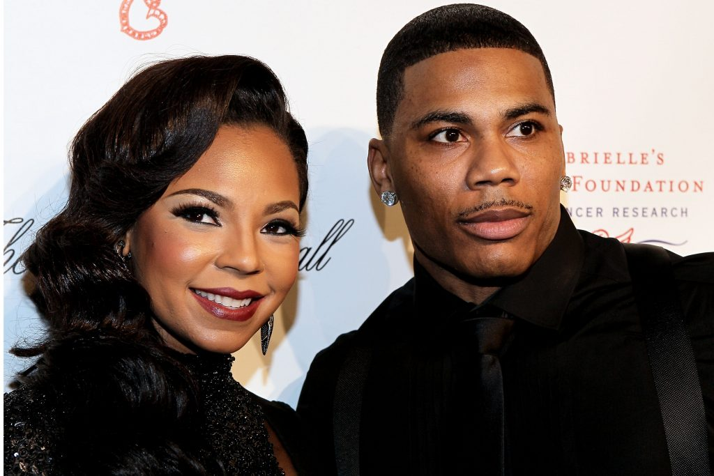 Ashanti and Nelly attendsthe Angel Ball 2012 at Cipriani Wall Street on October 22, 2012   Steve Mack/Getty Images