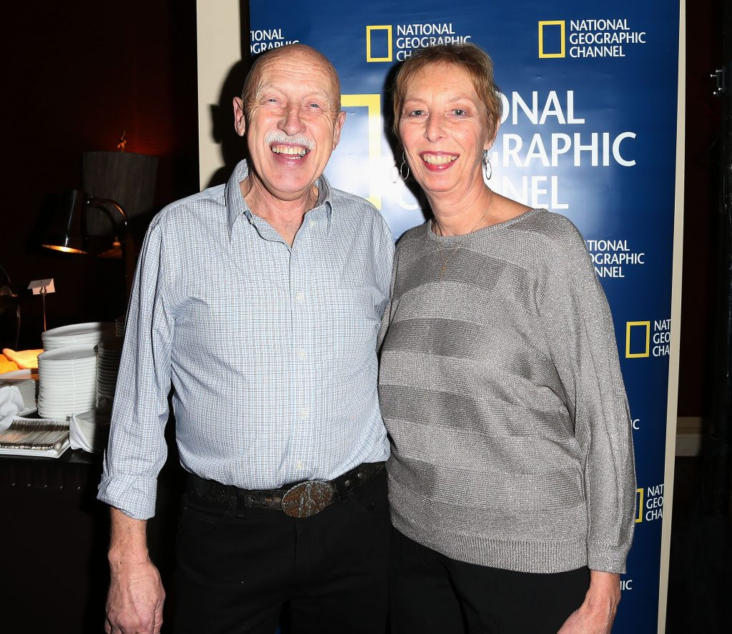 Dr. Jan Pol and wife, Diane
