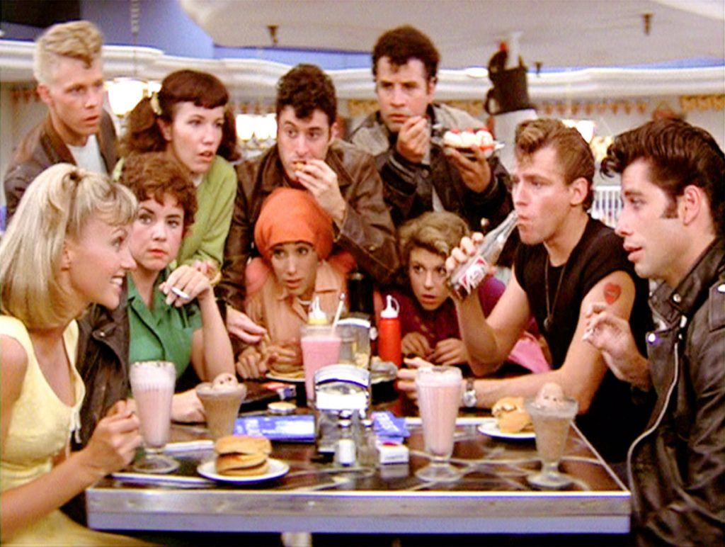 The 'Grease' characters