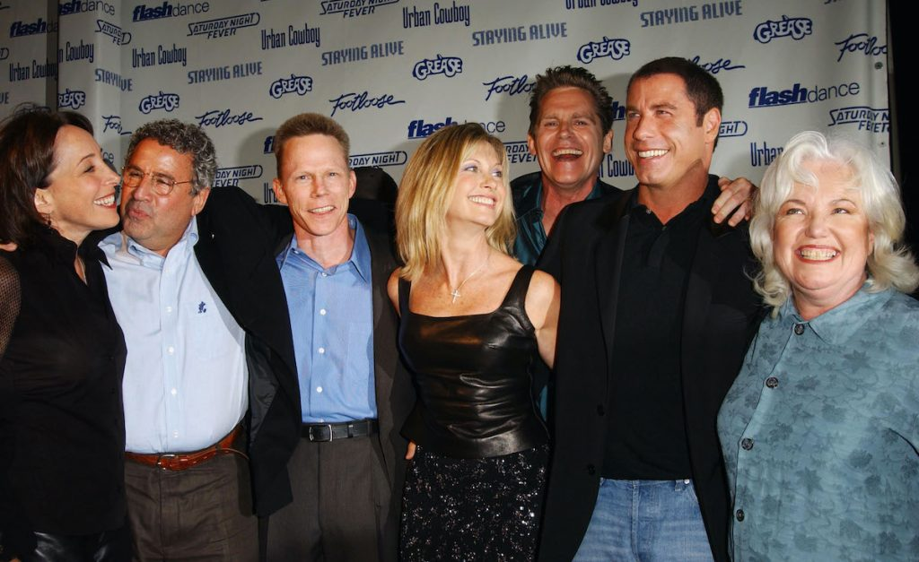 The 'Grease' cast in 2002