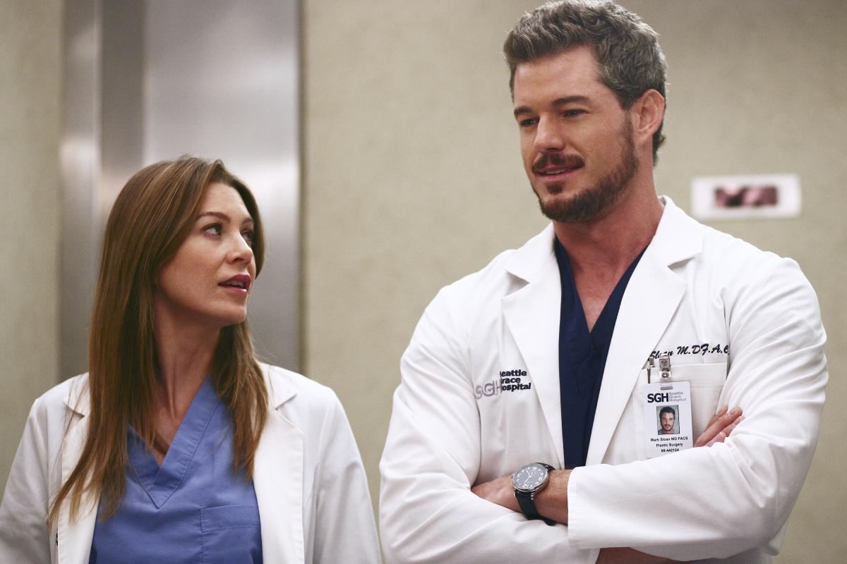 Grey's Anatomy Eric Dane