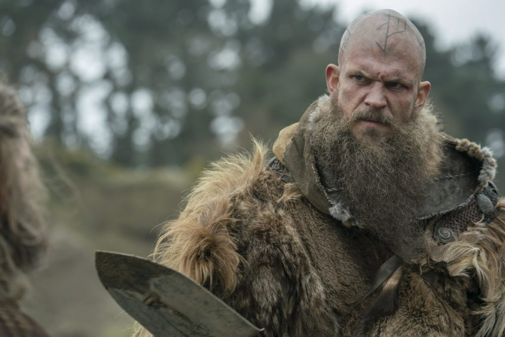 Gustaf Skarsgård in 'Vikings'