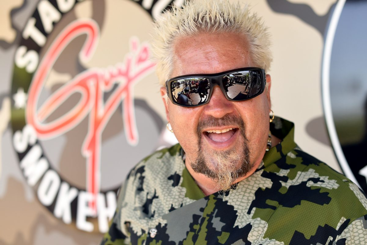 Guy Fieri at the 2019 Stagecoach Festival