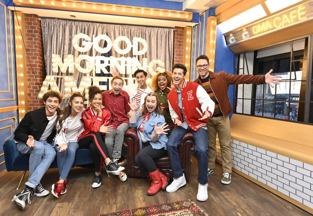 The stars of the Disney+ series 'High School Musical: The Musical: The Series'