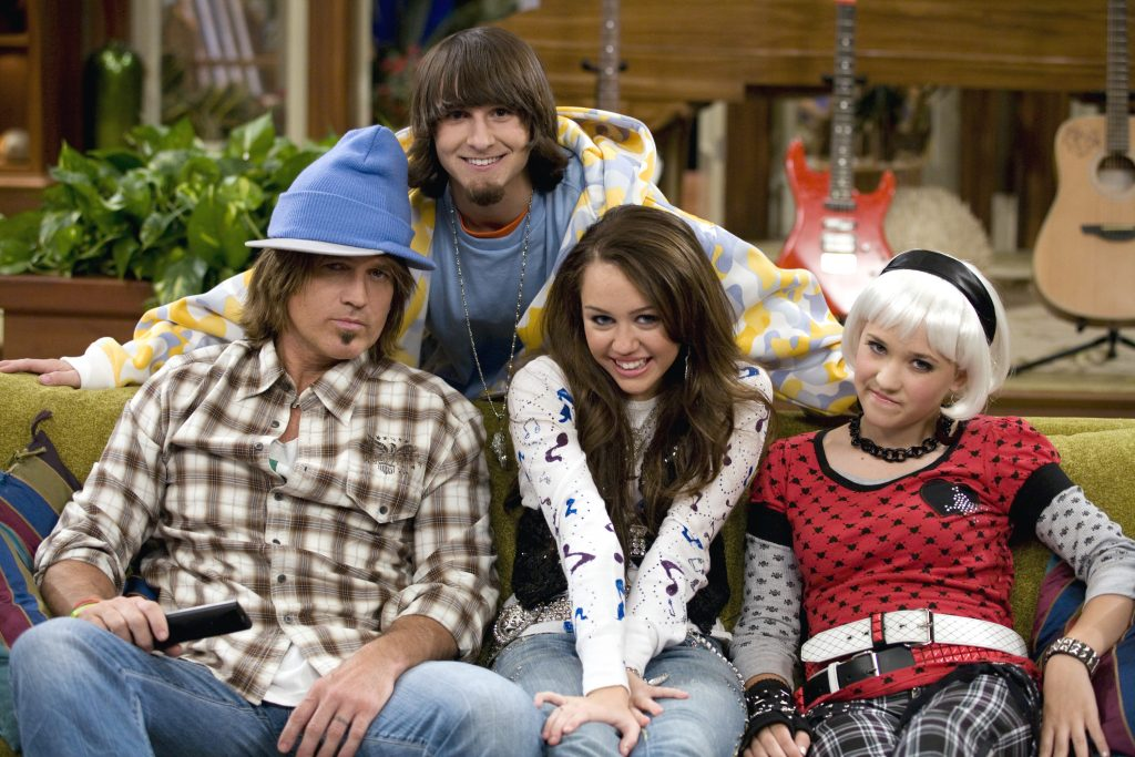 The cast of Disney Channel's television series, 'Hannah Montana'