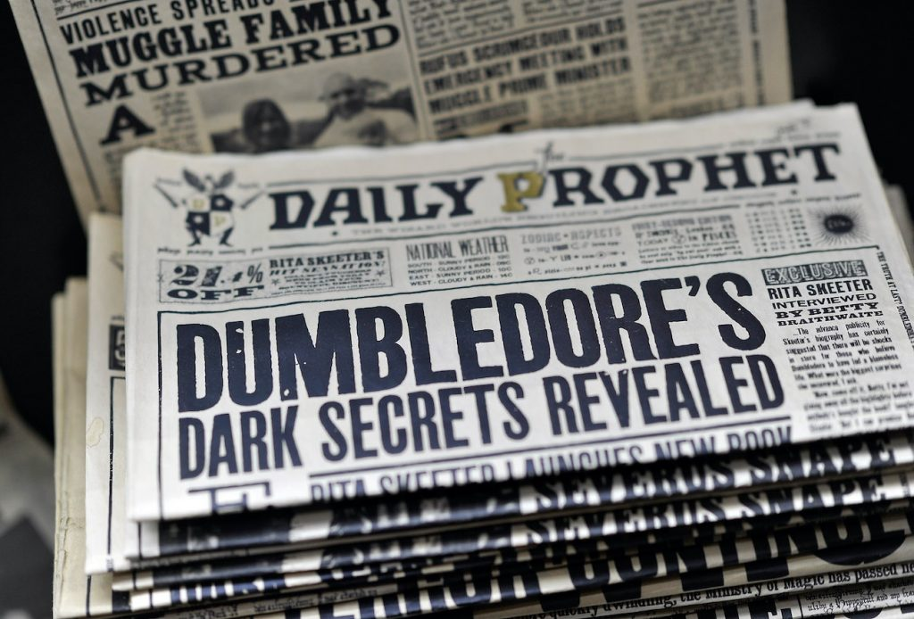 Harry Potter The Daily Prophet