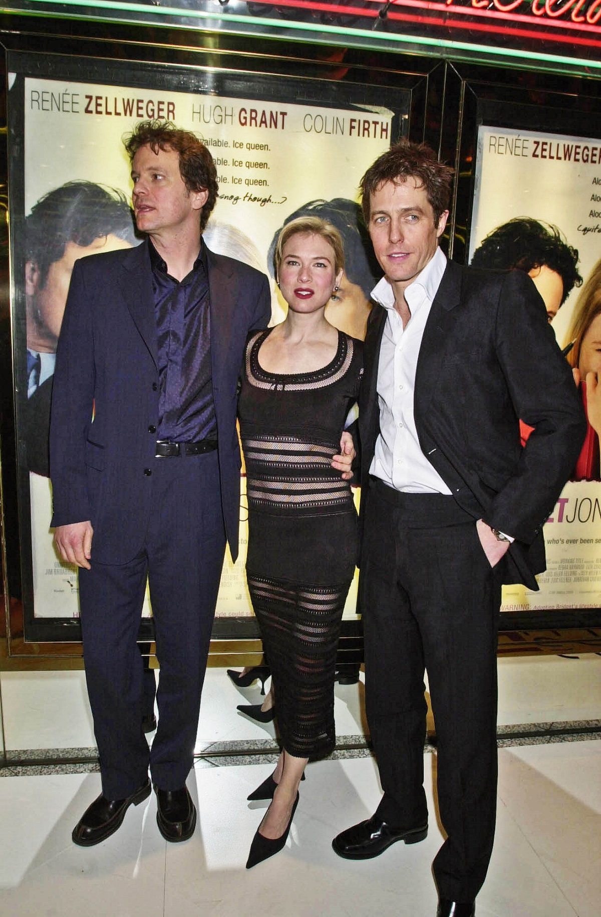 Colin Firth, Renee Zellweger and Hugh Grant