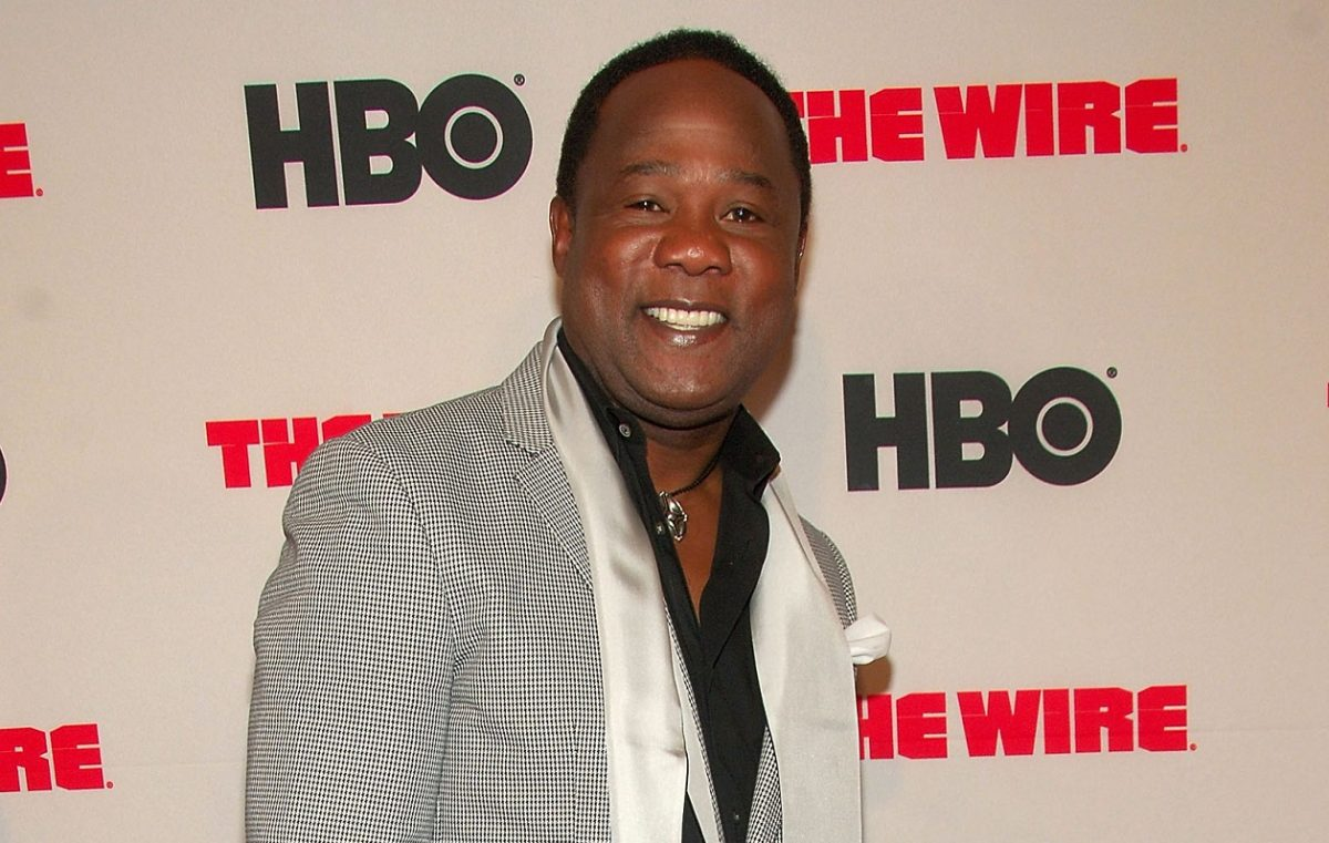 Isiah Whitlock Jr. at 'The Wire' premiere