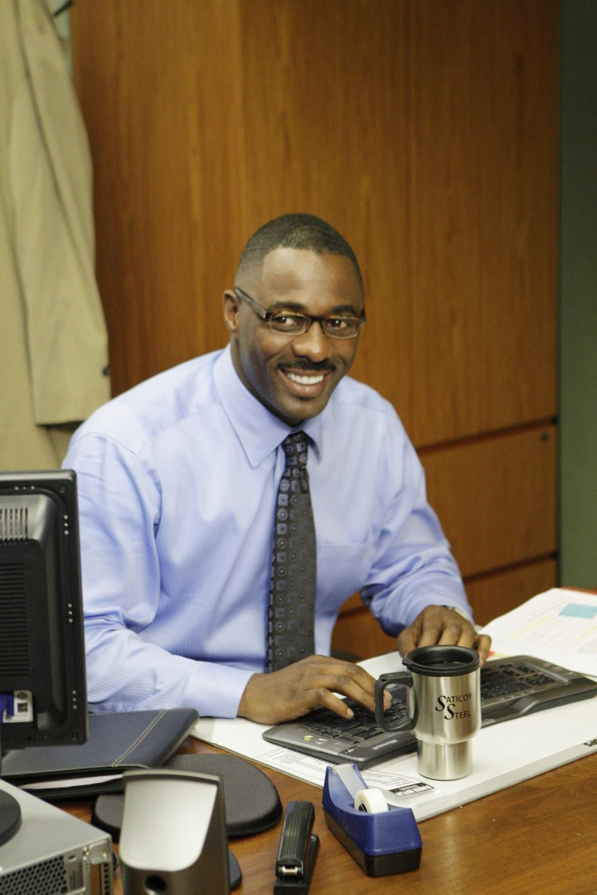 Idris Elba on 'The Office'