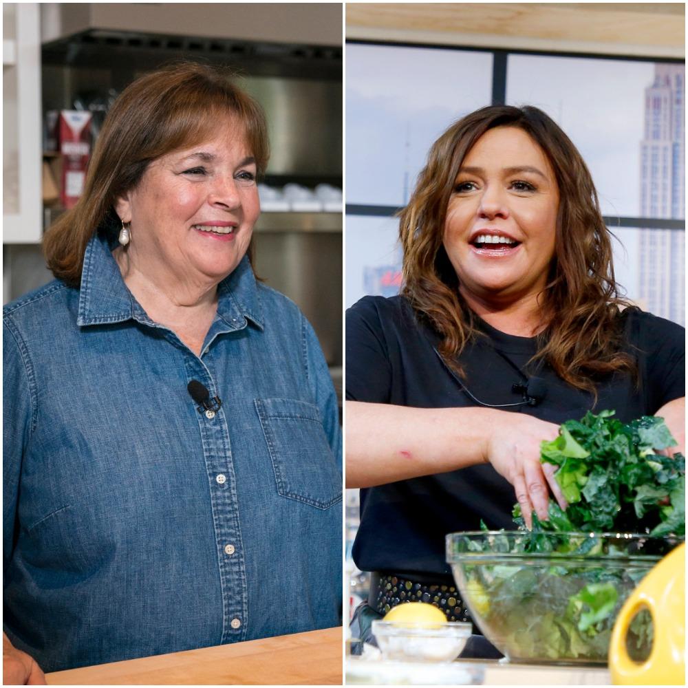 Ina Garten and Rachael Ray