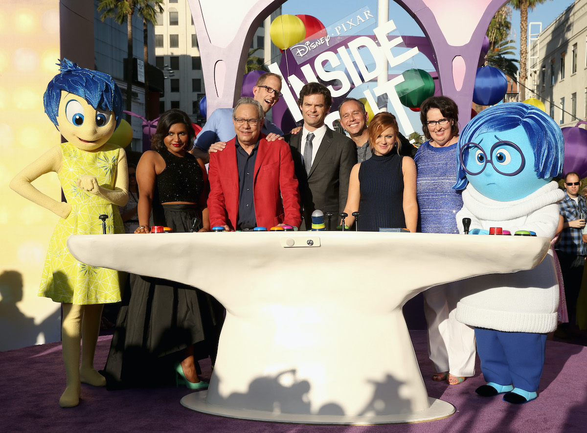 The cast and crew of 'Inside Out' at the premiere