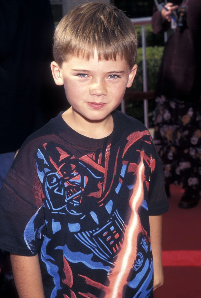 Jake Lloyd at an event