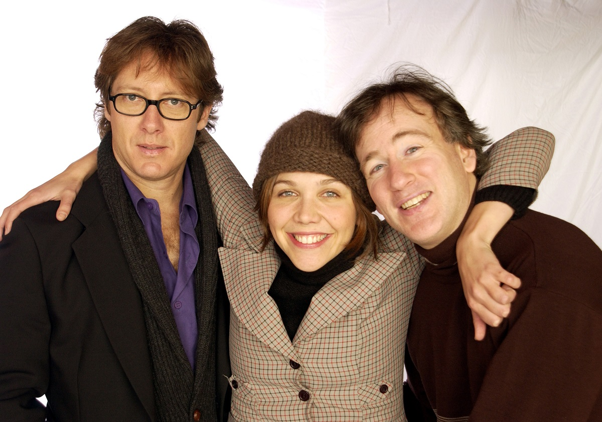 James Spader, Maggie Gyllenhaal, and director Steven Shainberg