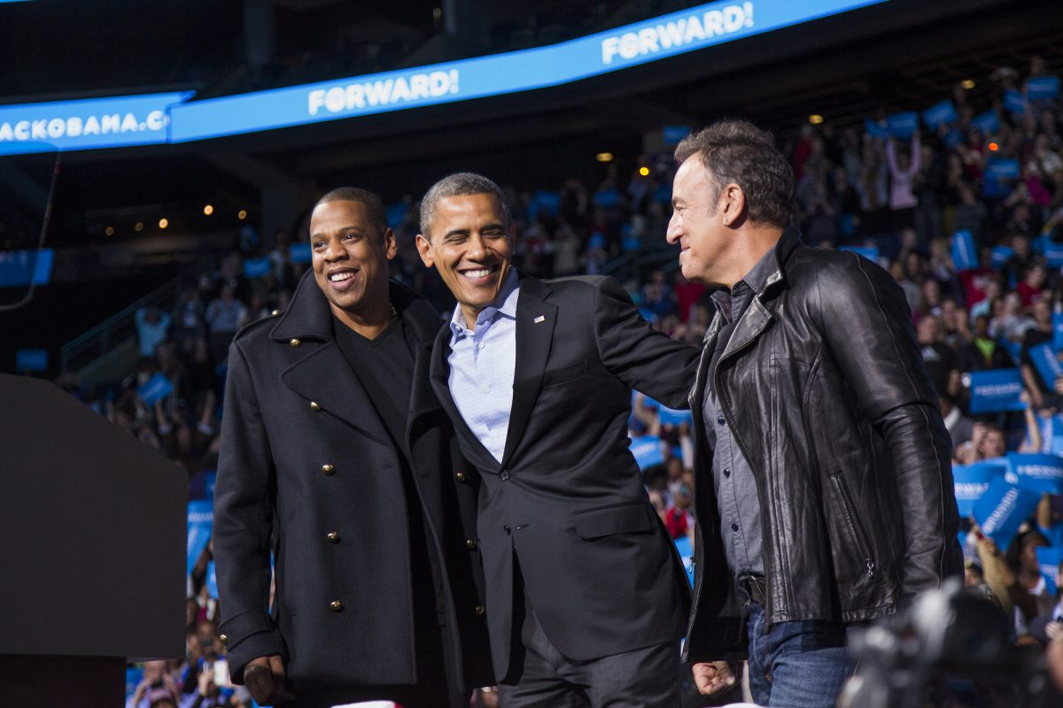 Jay-Z and Barack Obama