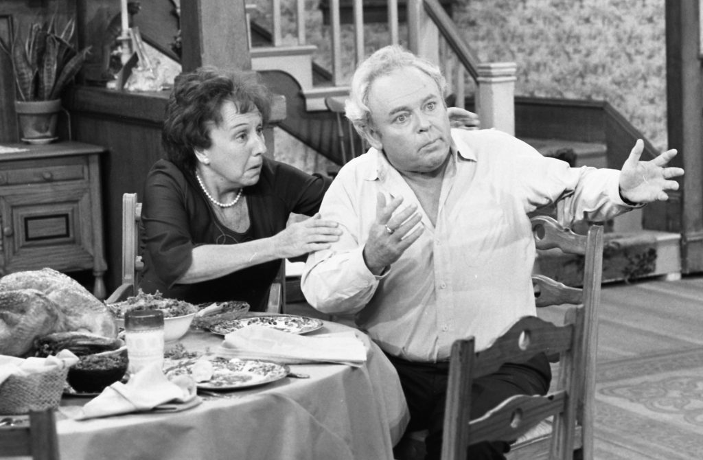 Jean Stapleton and Carroll O'Connor | Ron Eisenberg/Michael Ochs Archives/Getty Images